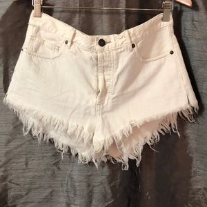 Free people || jean short short